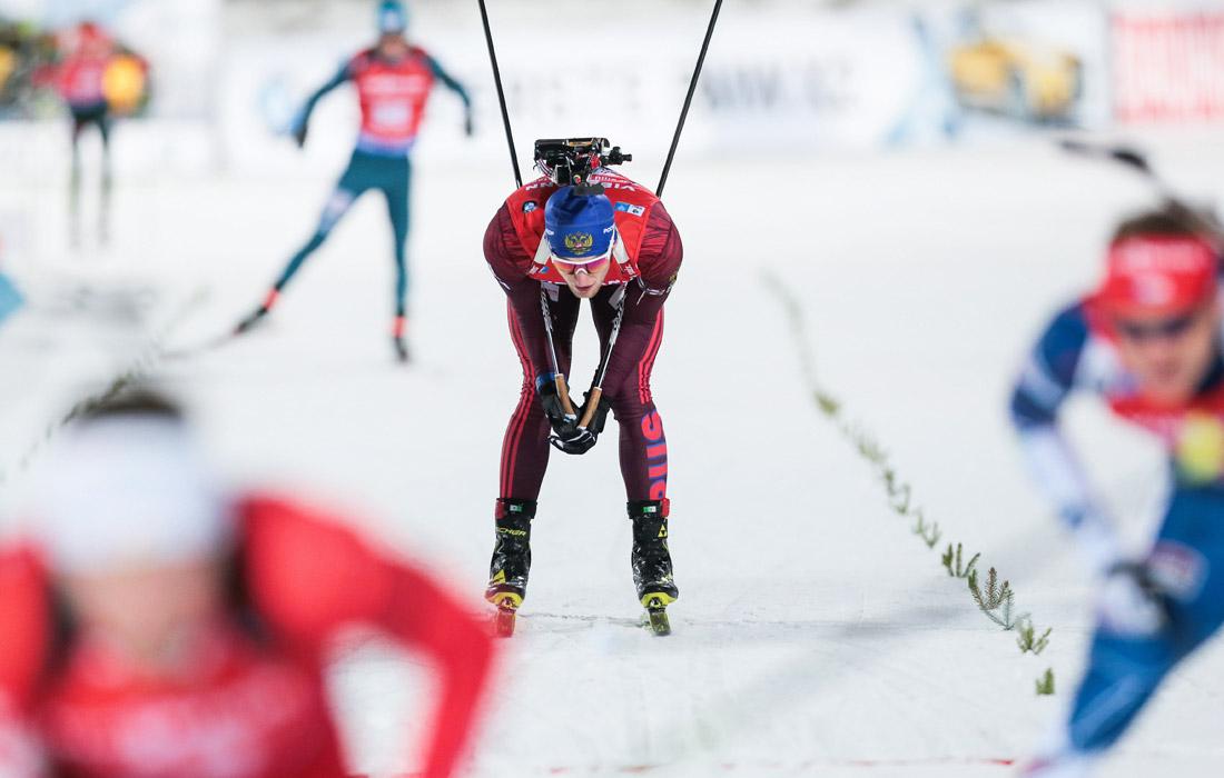 Антон Бабиков - чемпион мира-2017 по биатлону в мужской эстафете
