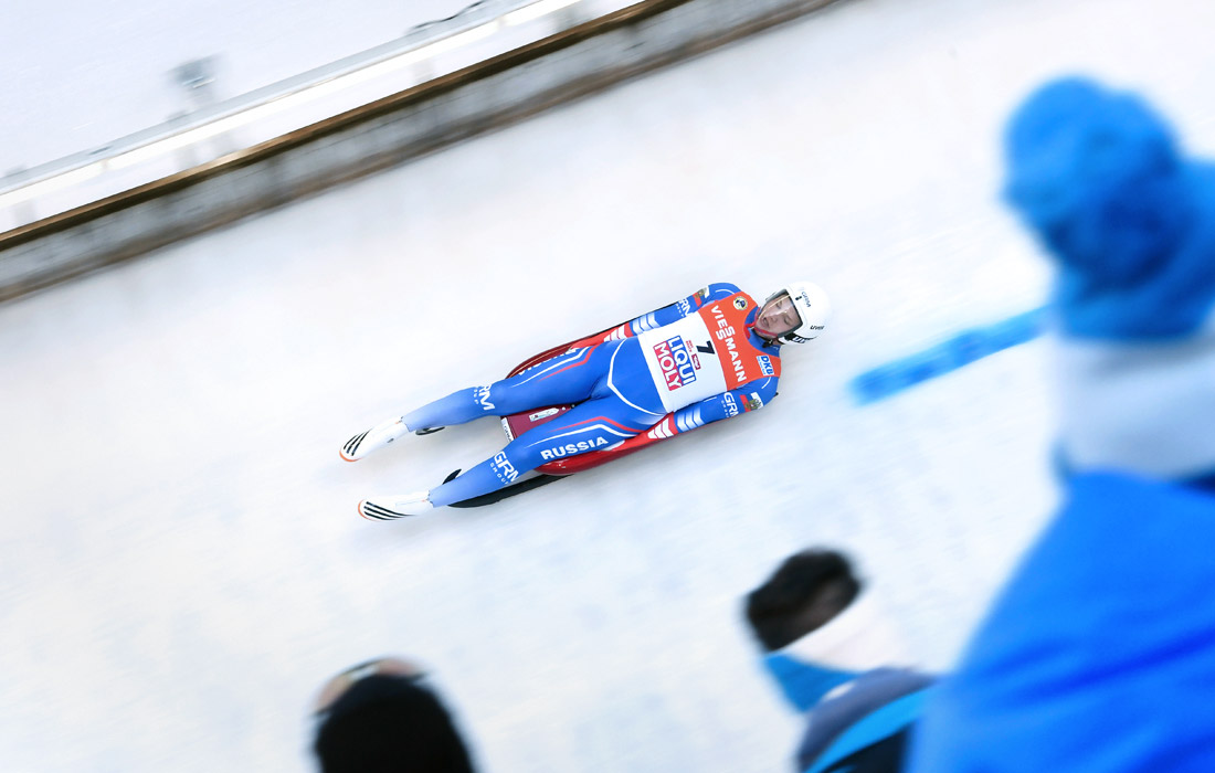 Роман Репилов - обладатель Кубка мира-2016/17 по санному спорту