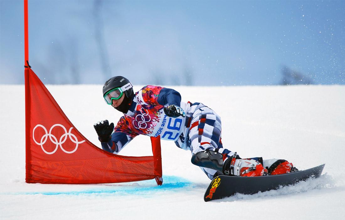 Сноубордист Андрей Соболев - чемпион мира-2015 в параллельном гигантском слаломе, четыре раза выигрывал этапы Кубка мира