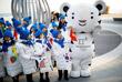 Талисман зимних Олимпийских игр в Южной Корее - белый тигр по имени Сухоран (Soohorang)