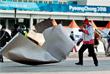 Последствия сильного ветра в Олимпийском парке