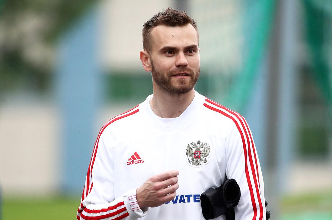 Вратарь Игорь Акинфеев (ЦСКА)