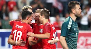 Товарищеский матч Австрия - Россия