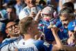 Нападающий сборной Исландии Альвред Финнбогасон после игры с Аргентиной