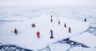 Самые необычные футбольные площадки