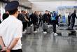 Сборная Германии по футболу в аэропорту Внуково