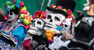 День мертвых в Москве
