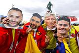 Колумбия - Англия. Онлайн