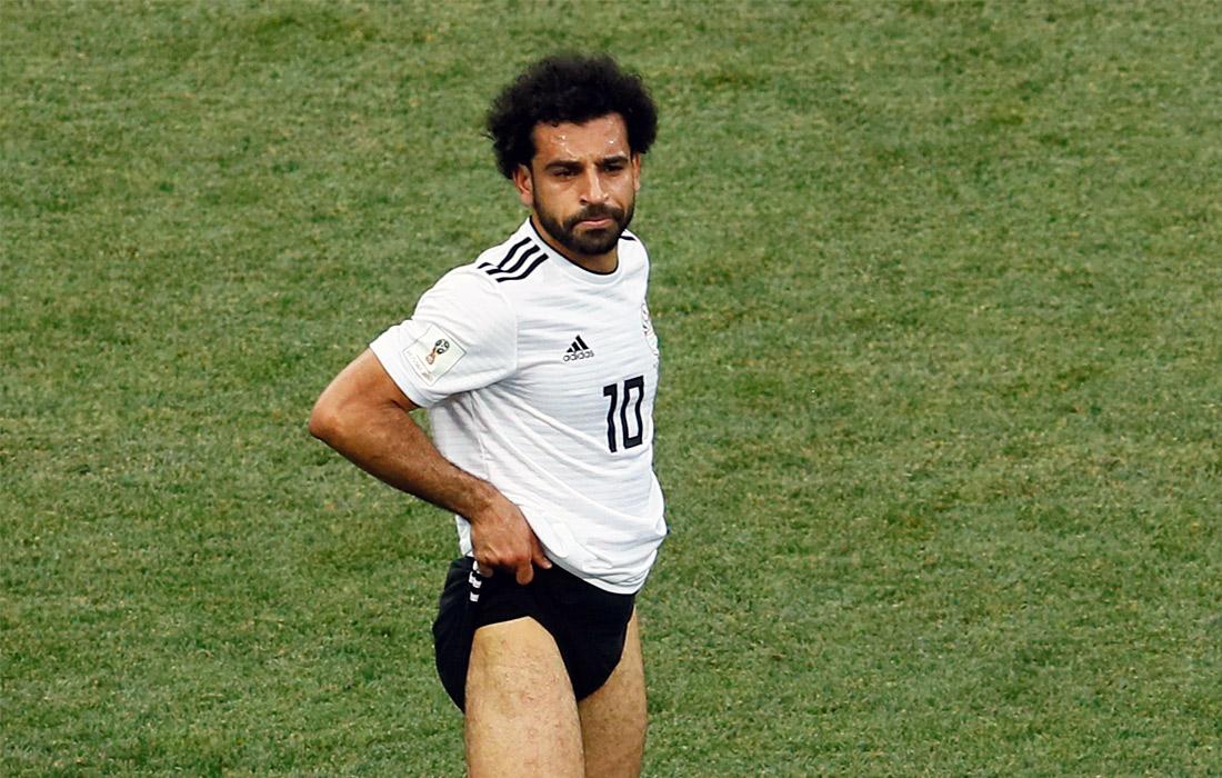 Нападающий сборной Египта Мохамед Салах после матча с Саудовской Аравией