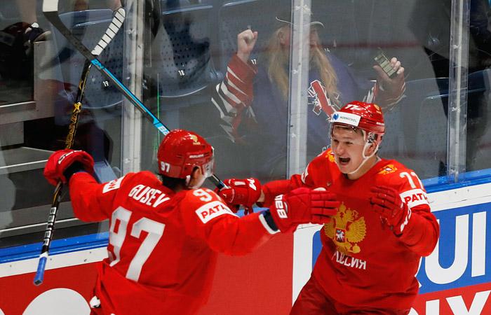 Россия победила США и вышла в полуфинал ЧМ