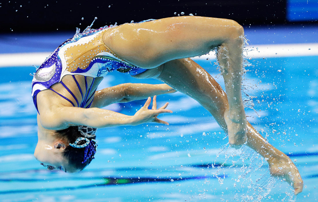 Спортсменка из Японии Юми Адати