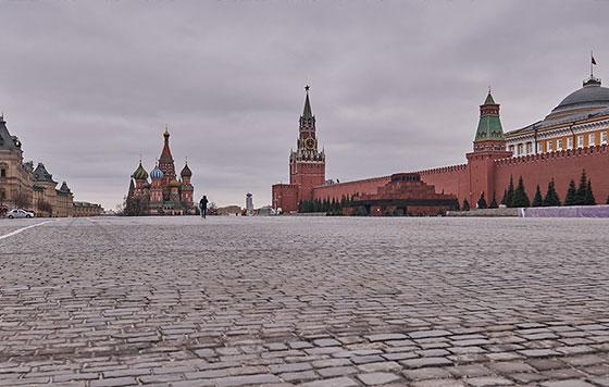Москва в режиме самоизоляции