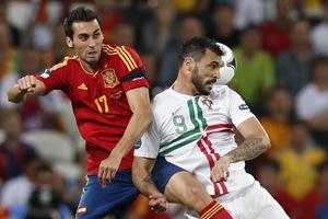 Евро-2012: Португалия - Испания
