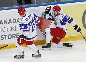 Молодежка вырвала победу у словаков