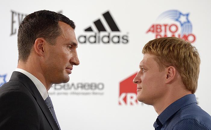 Кличко и Поветкин наконец встретились