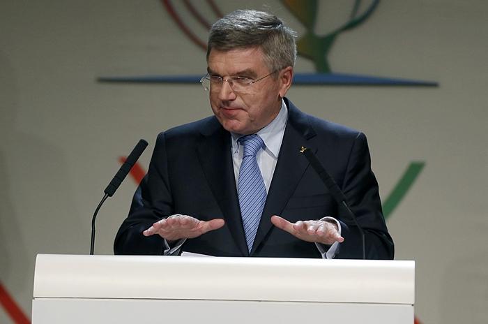 Новым президентом МОК стал Томас Бах