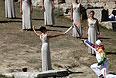 Эстафета Олимпийского огня пройдет по большей части континентальной Греции: от Древней Олимпии до Афинского Акрополя.