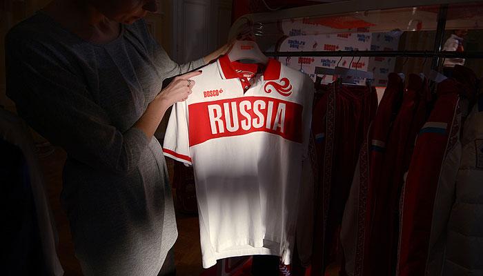 В Москве представили олимпийскую форму сборной