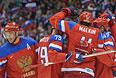Сборная России обыграла Словению в первом матче Олимпиады в Сочи