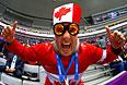 Болельщик канадской хоккейной сборной.