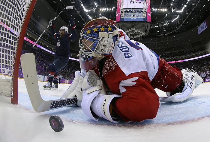Российские хоккеисты проиграли американцам