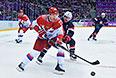 Сборная России по хоккею проиграла команде США
