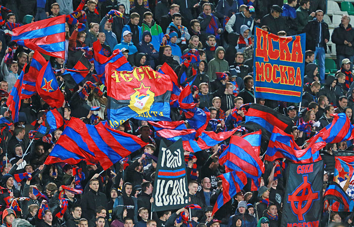 УЕФА наказал футбольный ЦСКА за расизм