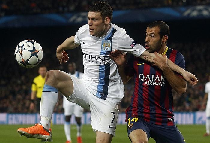 Барселона манчестер сити 12 марта голы
