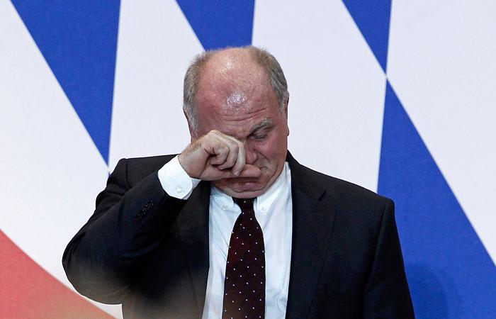 """Президент """"Баварии"""" получил 3,5 года тюрьмы"""