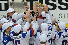 Cборная России по хоккею выиграла чемпионат мира