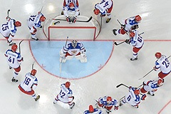 Сборная России - сборная Финляндии: онлайн-трансляция