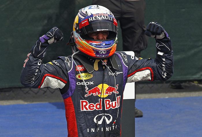 Гонщик Red Bull Риккьярдо выиграл Гран-при Канады