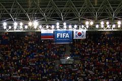 FIFA может лишить сборную России очков за поведение болельщиков