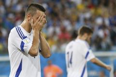 Босния досрочно прекратила борьбу за выход в плей-офф ЧМ-2014
