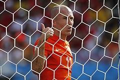 Сборная Голландии с первого места вышла в плей-офф ЧМ