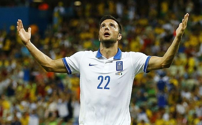 Греция вслед за Колумбией вышла в плей-офф чемпионата мира