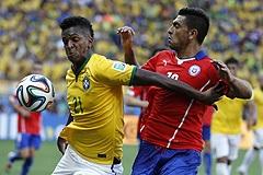 Бразилия стала первым четвертьфиналистом чемпионата мира