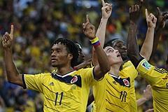 Сборная Колумбии вышла в четвертьфинал чемпионата мира