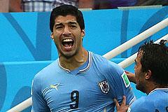 FIFA сняла с Суареса новые обвинения в укусах соперников