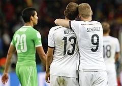 Германия победила Алжир и вышла в четвертьфинал чемпионата мира