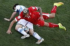 Аргентина обыграла Швейцарию и вышла в четвертьфинал чемпионата мира