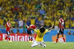 Сборная Бразилии вышла в полуфинал чемпионата мира по футболу