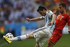 Сборная Аргентины вышла в полуфинал чемпионата мира по футболу