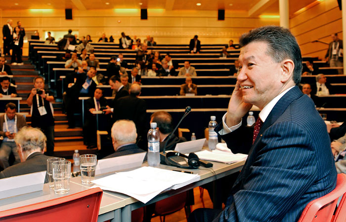 Илюмжинов переизбран на пост президента ФИДЕ в четвертый раз