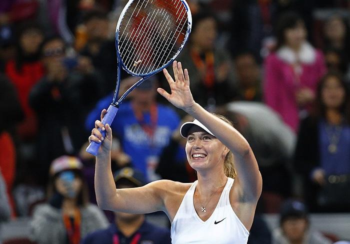 Мария Шарапова выиграла турнир в Пекине