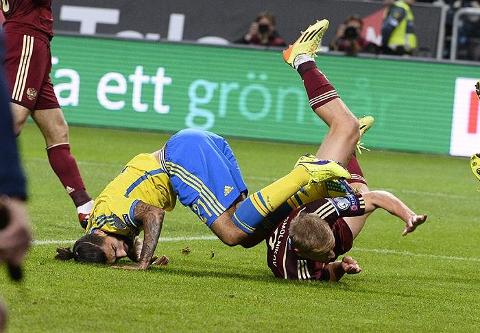 Сборная России сыграла вничью с командой Швеции