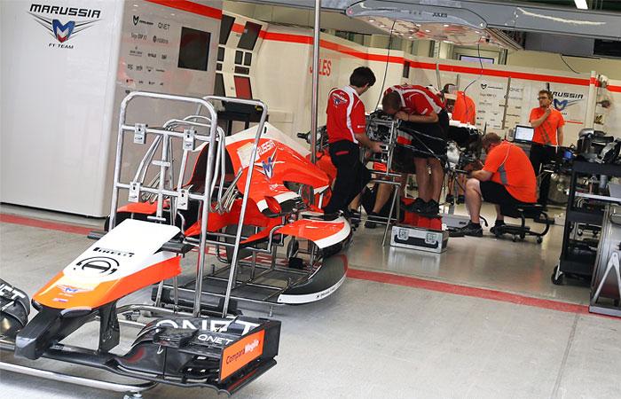Marussia выставит на Гран-при России одну машину