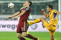 Сборная России не смогла обыграть Молдавию