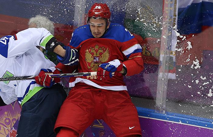 Российский хоккеист Войнов задержан в США за домашнее насилие