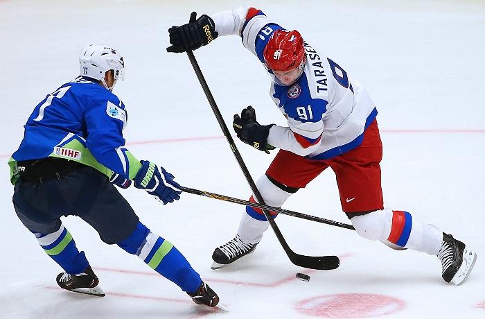 Сборная России по хоккею обыграла Словению на чемпионате мира